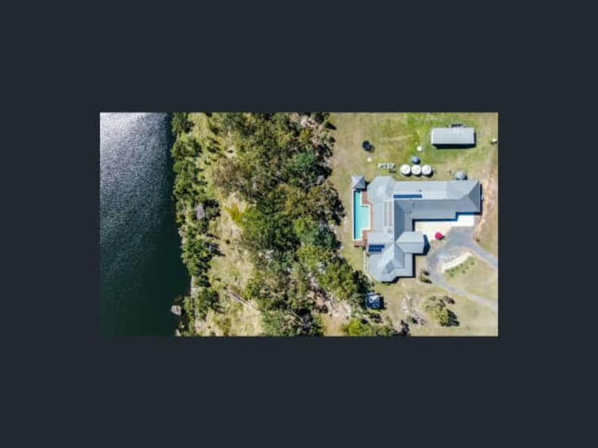 Floor Plan for Twin Rivers Retreat