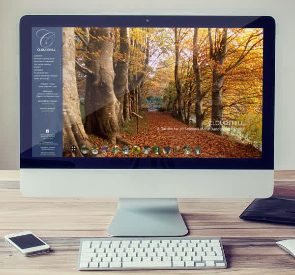 Cloudehill Gardens Website
