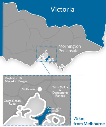 Mornington Peninsula Region Map