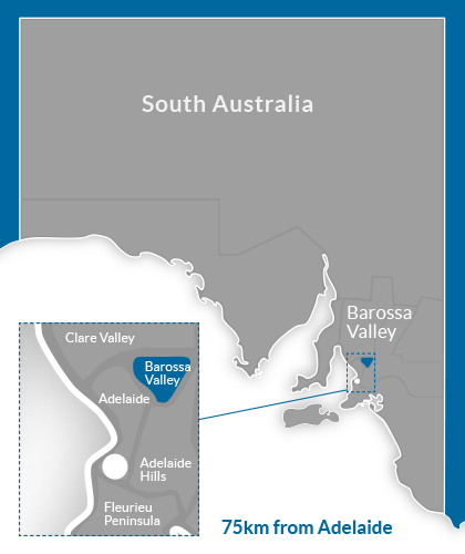 Barossa Valley Region Map