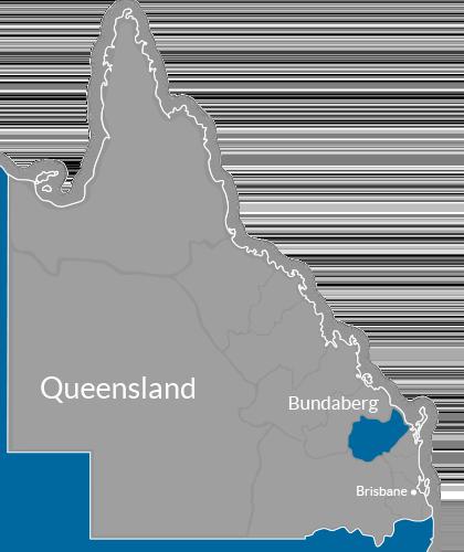 Bundaberg Region Map