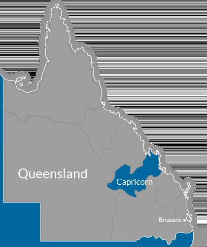 Capricorn Region Map