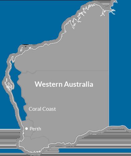 Coral Coast Region Map