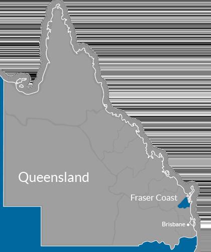 Fraser Coast Region Map