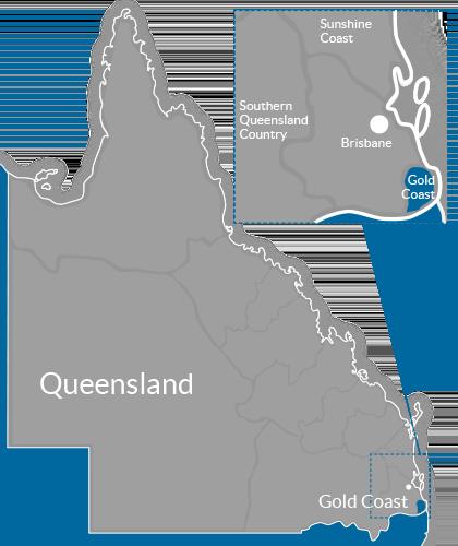 Goldfields Region Map