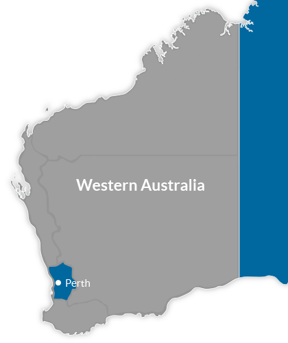 Perth Region Map