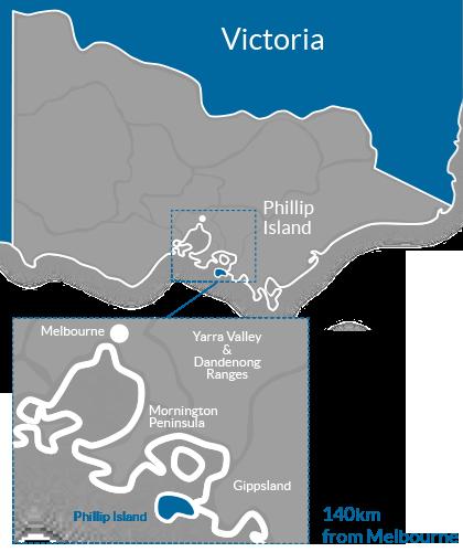 Phillip Island Region Map