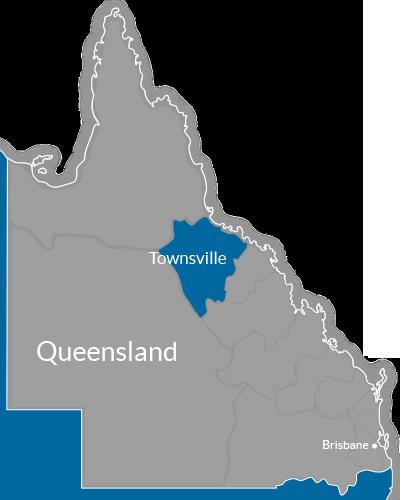 Townsville Region Map