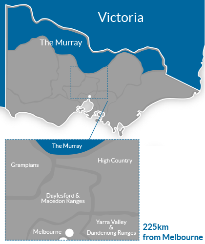 The Murray Region Map