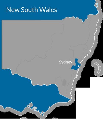 Sydney Region Map