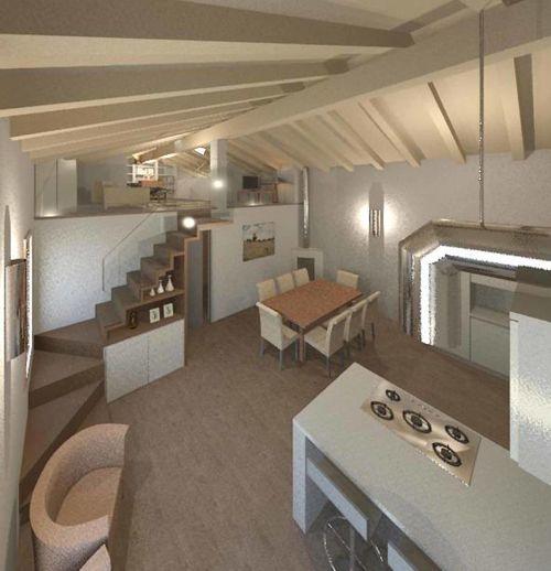 Arredamento e design d 39 interni di un appartamento con for Appartamento design interni