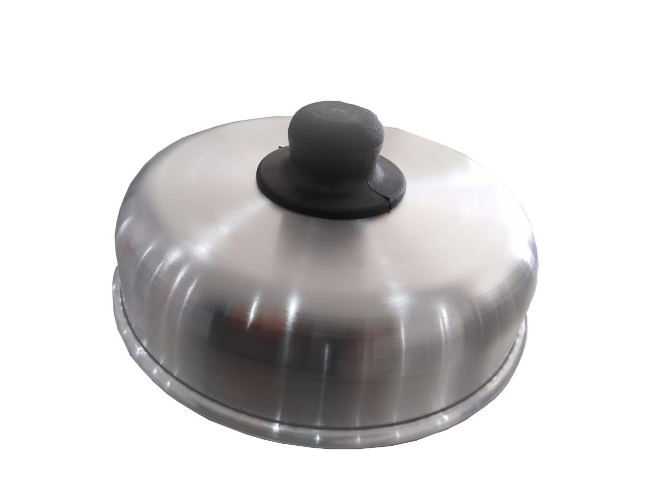 Abafador de hambúrguer de alumínio De Lucca