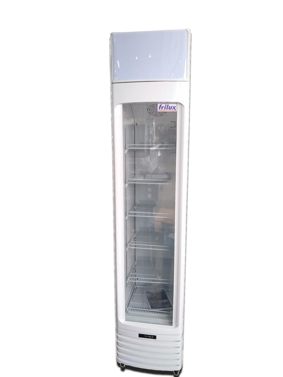 Expositor Visa-Cooler porta de vidro capacidade 150l branco 220V RF-003-ST Frilux