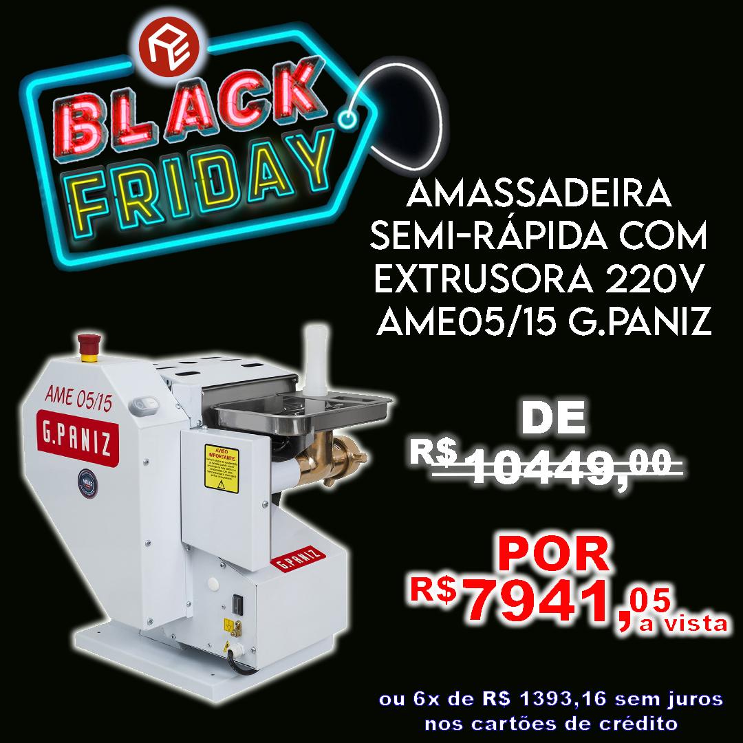 Amassadeira Basculante C/Extrusora AME-05/15 G.Paniz