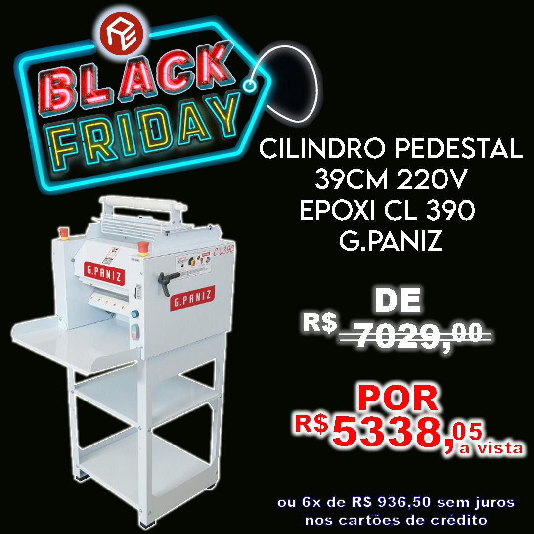 Cilindro pedestal laminador CL390 220V G.Paniz