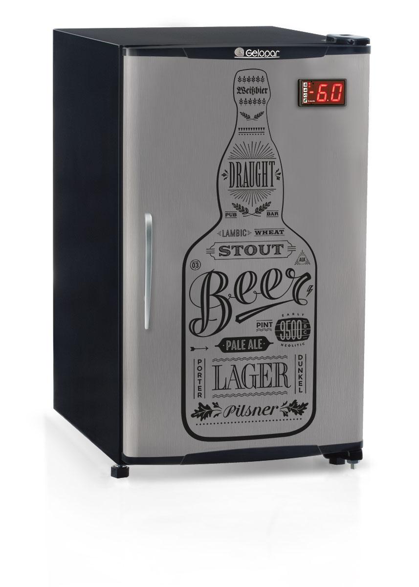Cervejeira 112 Litros GRBA-120GW PR Gelopar