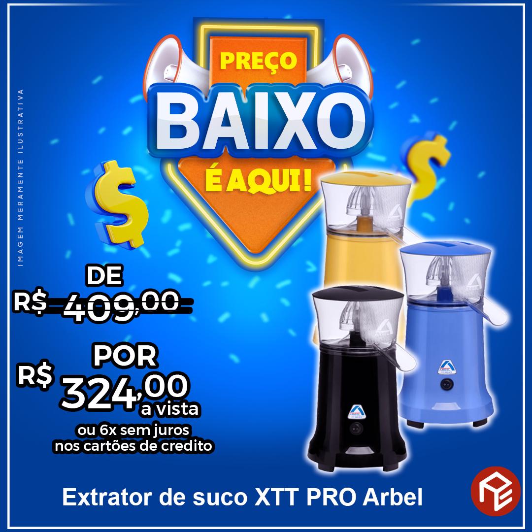 Extrator de suco XTT Pro Arbel