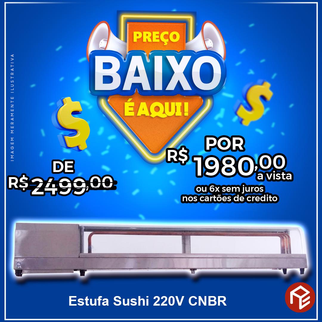Estufa sushi 220V CNBR