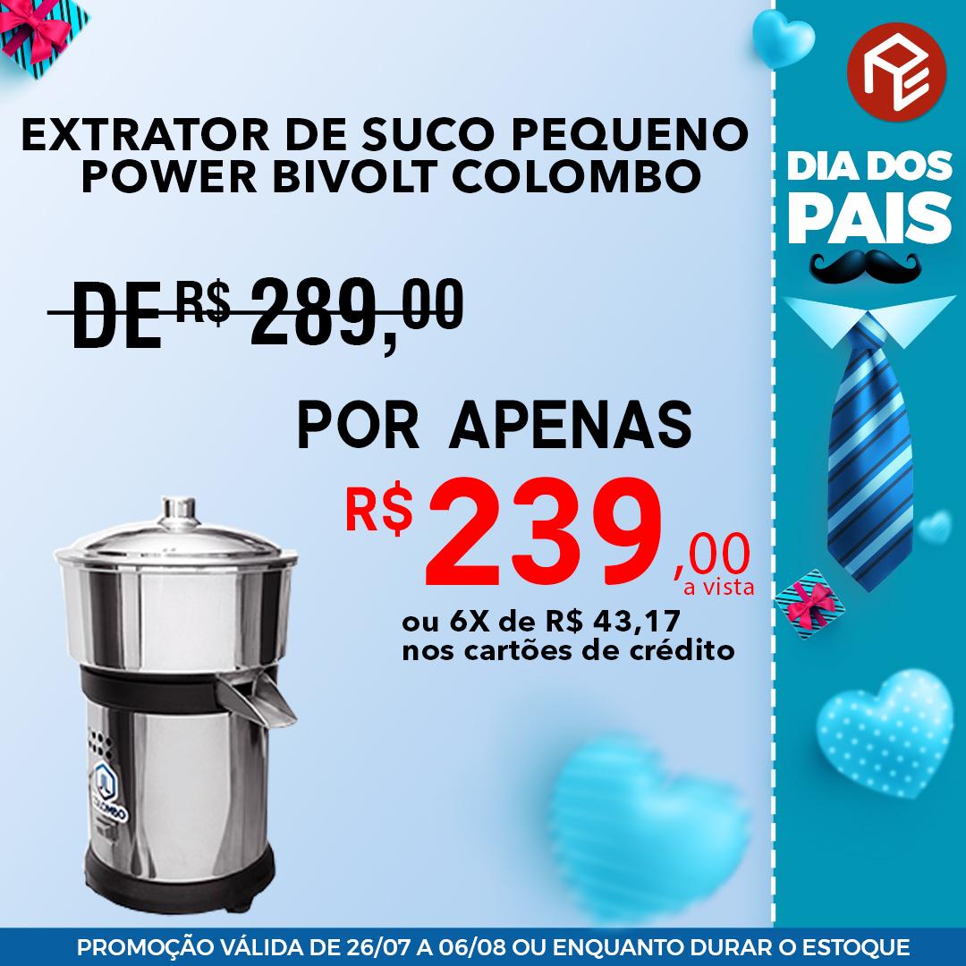 Extrator de Suco Pequeno Power Colombo