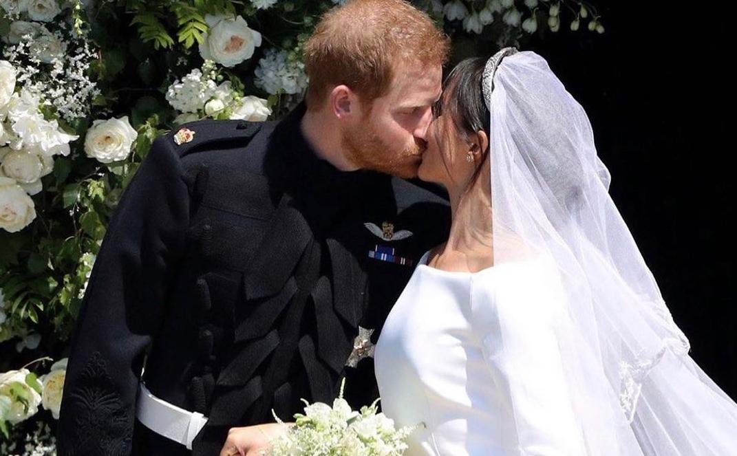 Меган Маркл и принц Гарри обменялись подарками из хлопка в годовщину свадьбы