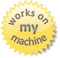 Works on My machine width=120