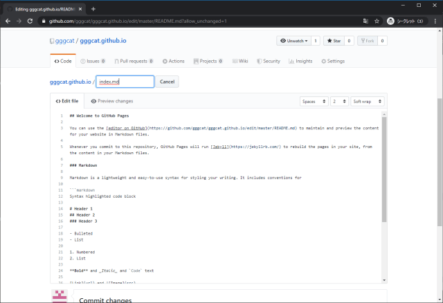 GitHub Pages width=640
