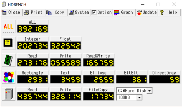 HDbench 4k width=640