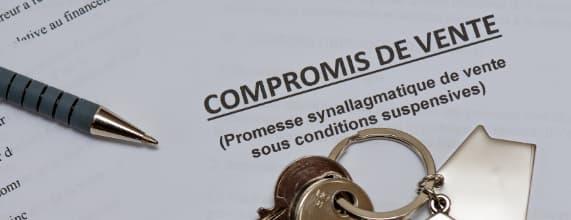 compromis vente définition clauses suspensives