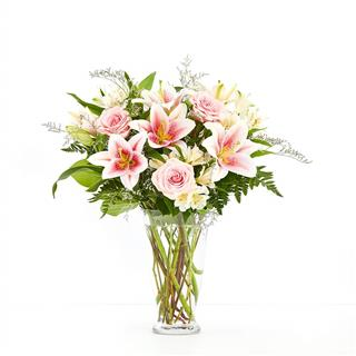 Lovely Lilies & Roses for Sympathy