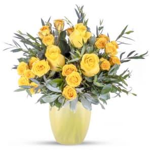 Yellow Rose Garden!