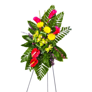 Tropical Tribute Standing Spray