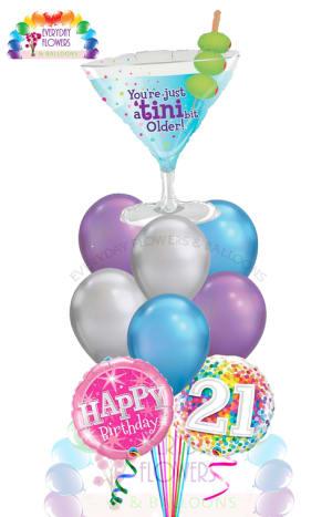 A Tini bit older Balloon Bouquet