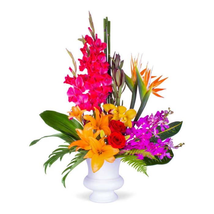 Exotic Sympathy Blooms
