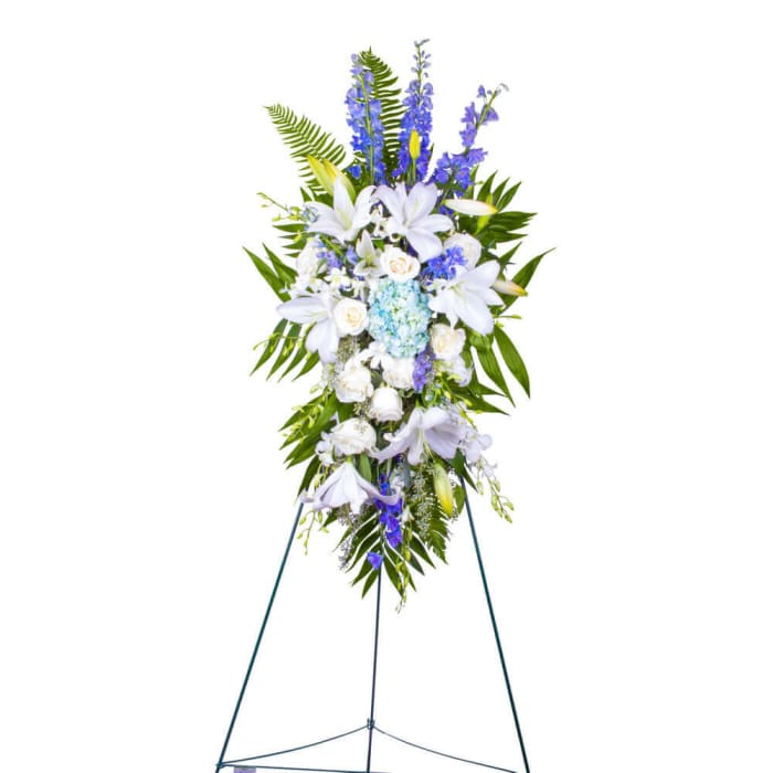 Serene and Graceful Funeral Spray