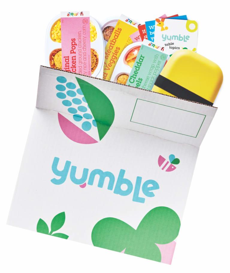 open box of yumble