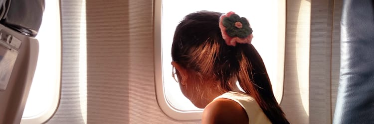 How to Make Traveling By Air with Kids An Actual Breeze