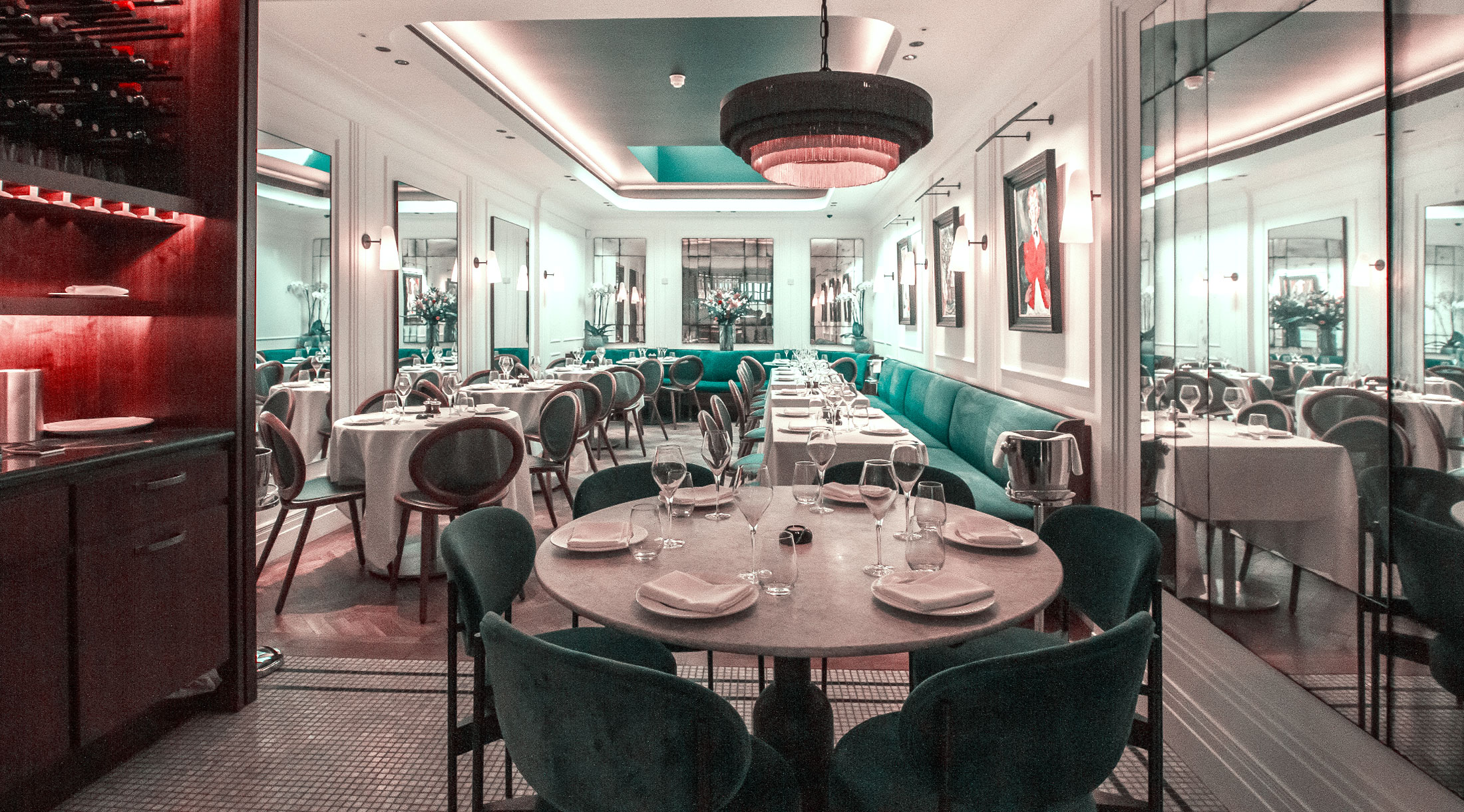 Les Platanes - Contemporary French Bistrot De Luxe in central London.