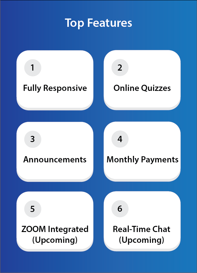 eClasster - The best tuition class management system - 3