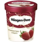 HAAGEN-DAZS Strawberries & Cream Lody 500 ml