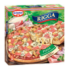 DR. OETKER RIGGA Pizza z szynką i pieczarkami i sosem czosnkowym 270g