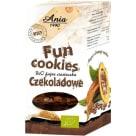 ANIA Fun Cookies Ciasteczka czekoladowe BIO 120g