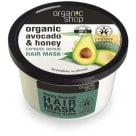 ORGANIC SHOP Hair Mask regenerating an express honey avocado ECO 250 ml