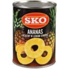 SKO Ananas plastry 580ml