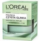 LOREAL Skin Expert Czysta Glinka Maska detoksykująca 50ml