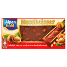 ALPEN GOLD Nussbeisser Milk Whole Nuts Chocolate 100 g
