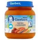 GERBER OBIADEK Vegetables with fish - after 5 months 130 g