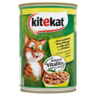 KITEKAT Cat food with chicken in sauce - can 400g