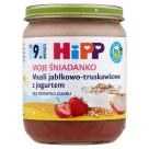 HIPP Moje Śniadanko Musli z truskawkami z jogurtem BIO - po 9 miesiącu 160g