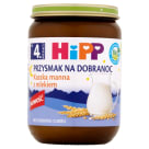 HIPP Przysmak na Dobranoc Semolina with milk BIO - after 4 months 190 g