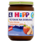 HIPP Przysmak na Dobranoc Milk Cereal with Sponge Cookies - After 4 Months 190 g